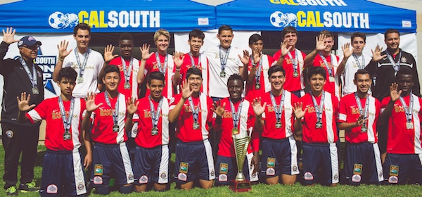 The Santa Barbara Soccer Club Under-17 team will take on Mexico in an exhibition match at San Marcos High.