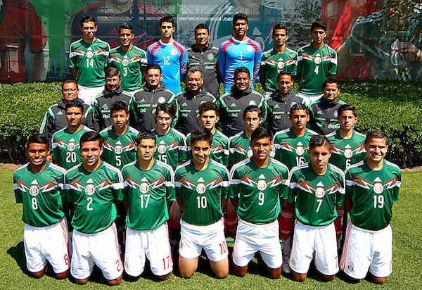 Mexico's U-17 team is preparing for the FIFA Under-17 World Cup in Chile.