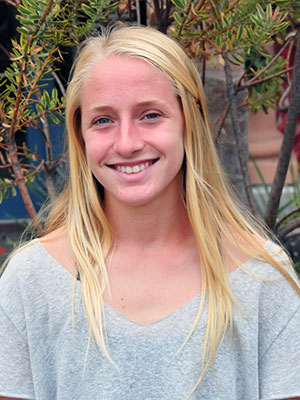 Christina Rice, Dos Pueblos cross country.