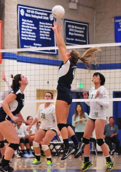 Phoebe Madsen runs the attack for Laguna Blanca.