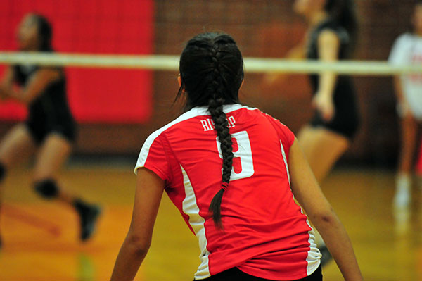 Summer Soto tallied 44 digs in the five-set match.