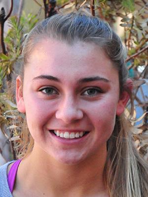 Phoebe Madsen, Laguna Blanca volleyball.