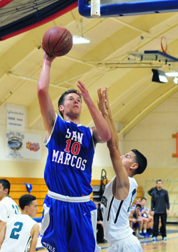 Scott Everman leads the San Marcos attack.