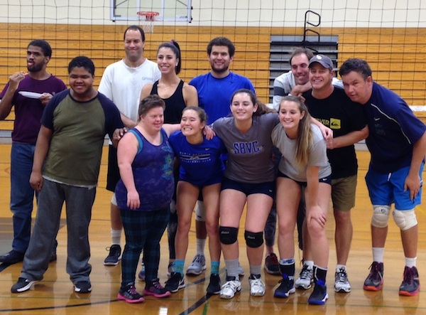The Santa Barbara Special Olympics volleyball team won a tournament in Santa Maria.