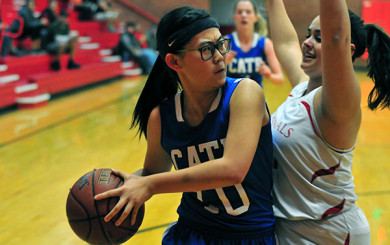 Cate vs. Bishop Diego Girls Basketball