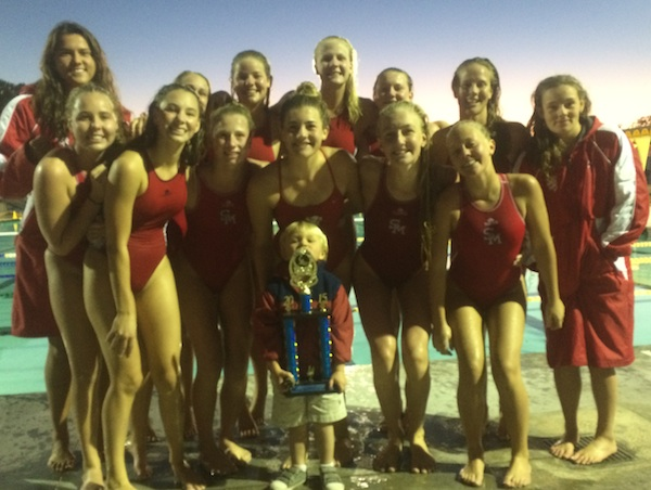 The San Marcos girls water polo won their first Villa Park Tournament title in program history.