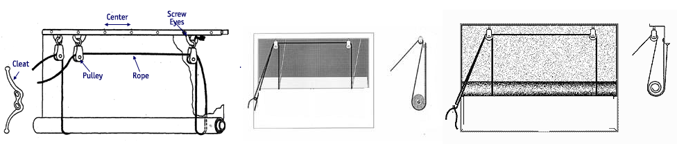Garage Door Screens Pulley System