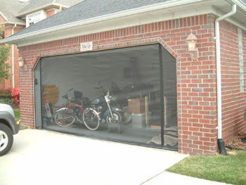 Material Specifications for Garage Door Screens