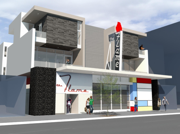 The Flame Nightclub Building – Hillcrest
