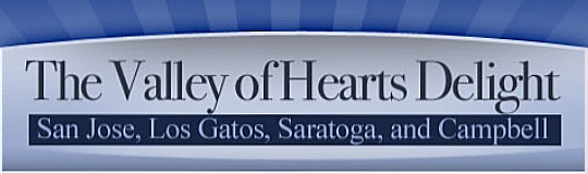 Valley of Heart's Delight shield - logo for Mary Pope-Handy's Silicon Valley real estate blogs and sites