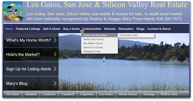 popehandy.com Silicon Valley neighborhoods