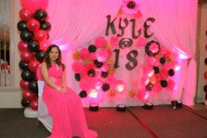 Kyle's 18th Birthday Celebration Button Photo