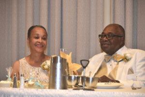 Raymond & Beverly's 50th Anniversary Celebration Button Photo