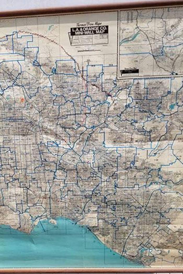 Los Angeles School Map