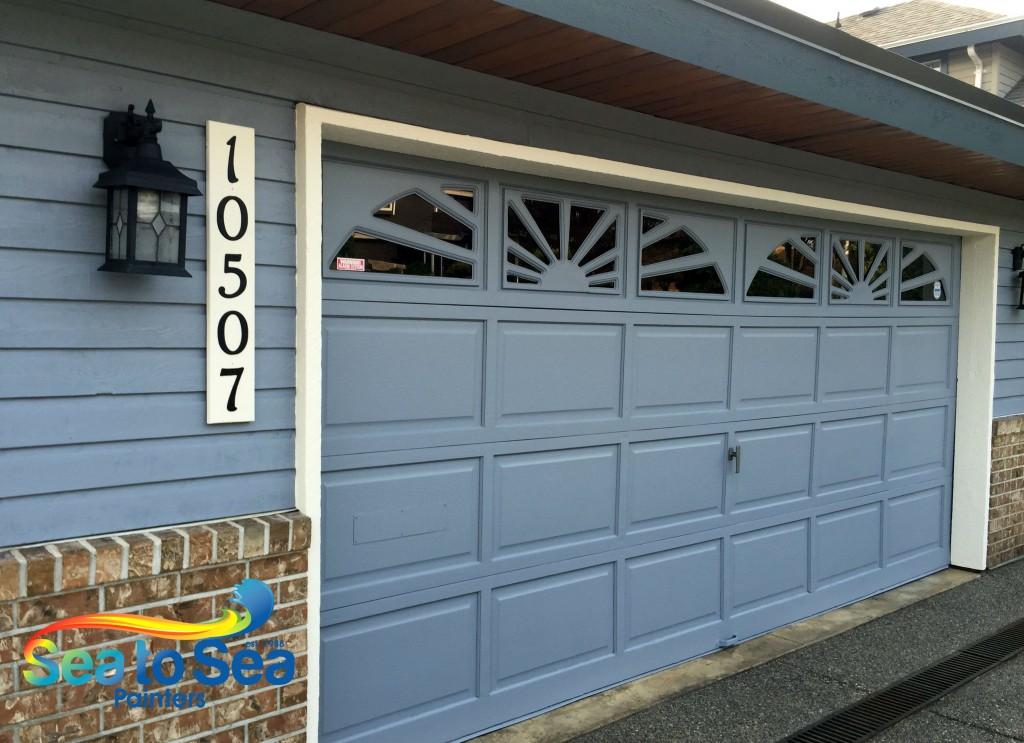 Garage door repaint