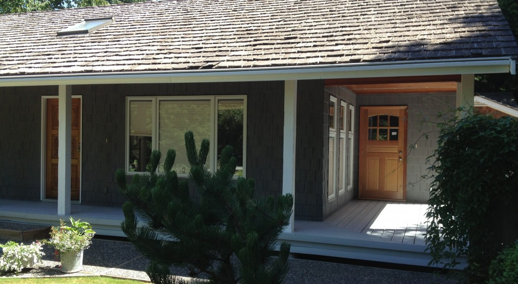 exterior painting project in White Rock, BC
