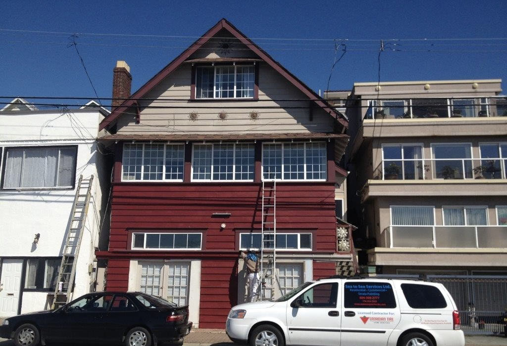 Recidential Painting Service - Sea to Sea Painters