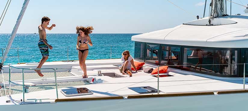 Catamaran Charter Italy first slider photo