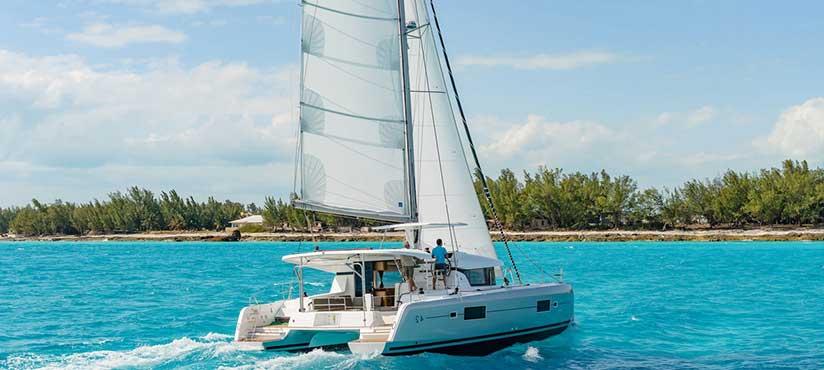 Catamaran Charter Italy second slider photo