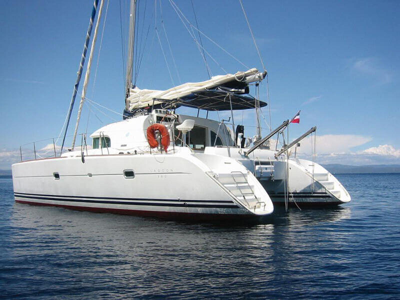 Catamaran Charter italy on board Lagoon 380