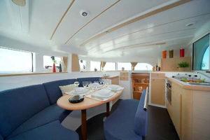 Catamaran Charter italy on board Lagoon 380 S2