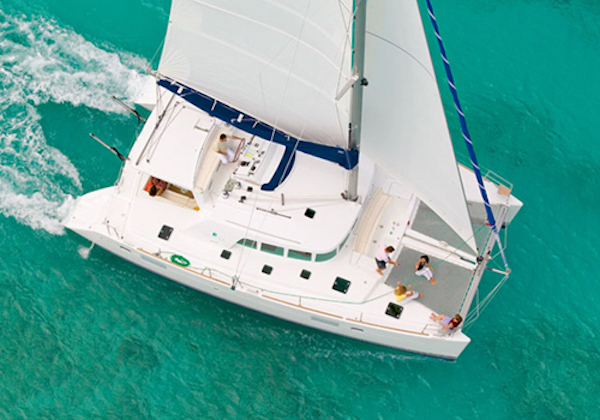 Catamaran Charter Italy on board Lagoon 410