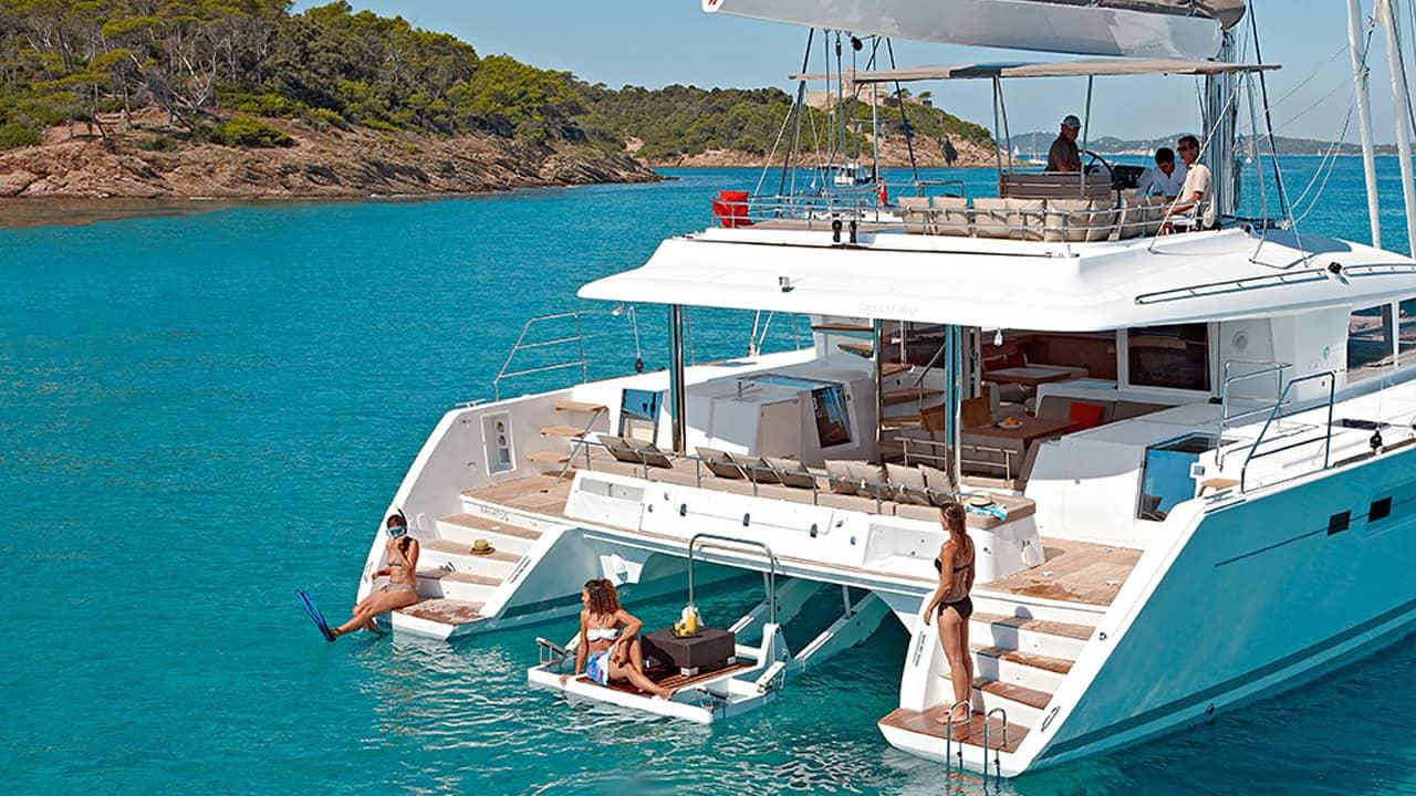 Catamara Italy Charter Slider Main