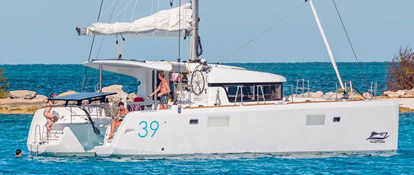 Lagoon 39 Catamaran Charter Italy Main