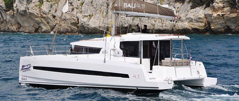 Bali 4.1 Catamaran Charter Italy Main