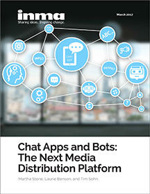 Tim Sohn of Sohn Social Media Solutions is mentioned as co-author in chat/messaging apps report by International News Media Association.