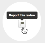 How to report a Yelp review
