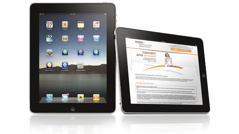 App on iPad