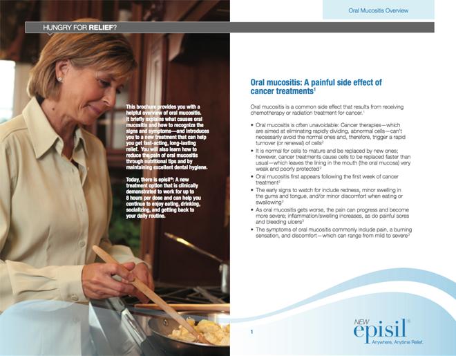 Patient Caregiver Brochure Inside Spread
