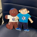 Flat Stanley & Gingerbread Man journey to Israel