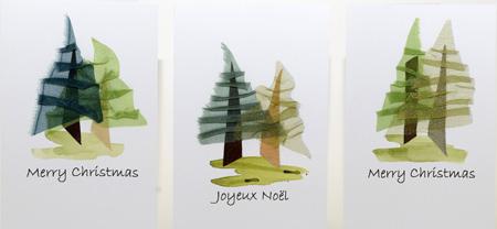 Woodscape Xmas cards