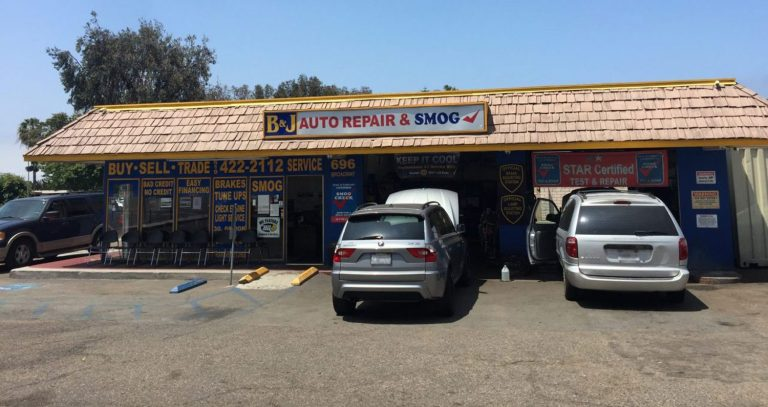 auto repair and smog