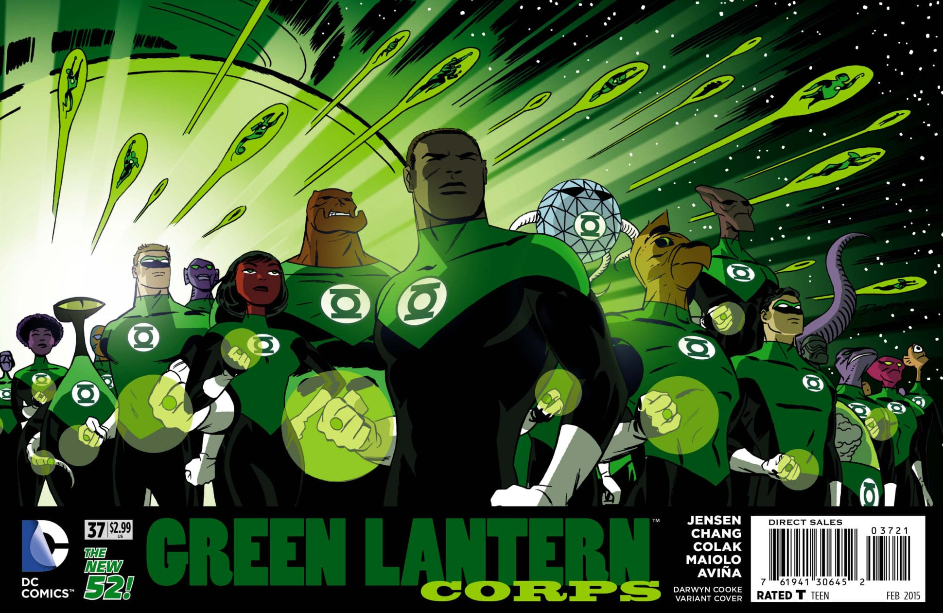 Green Lantern Corps #37
