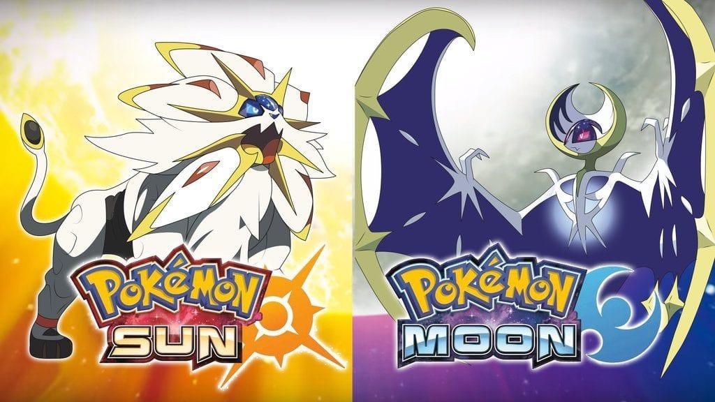 Pokemon Sun and Moon Legendary Types