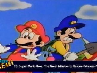 Super Mario anime