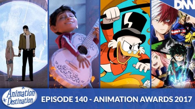 Animation Awards 2017