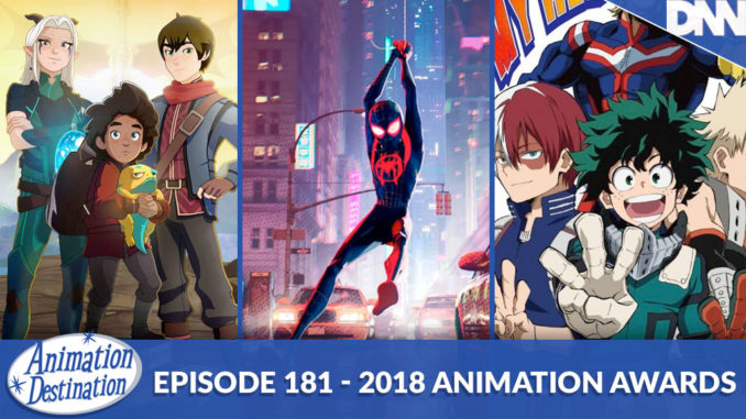Animation Destination Awards 2018