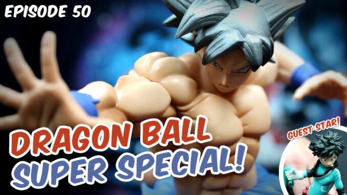 Close-up of DBS Ultra Instinct Goku