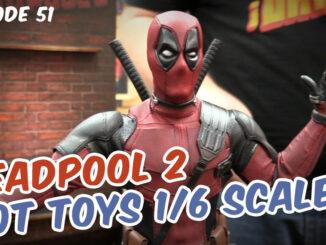 Deadpool 2 figure with finger-guns