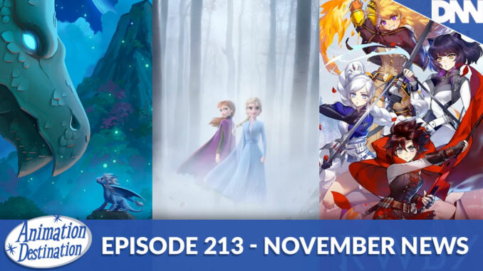 November Animation News