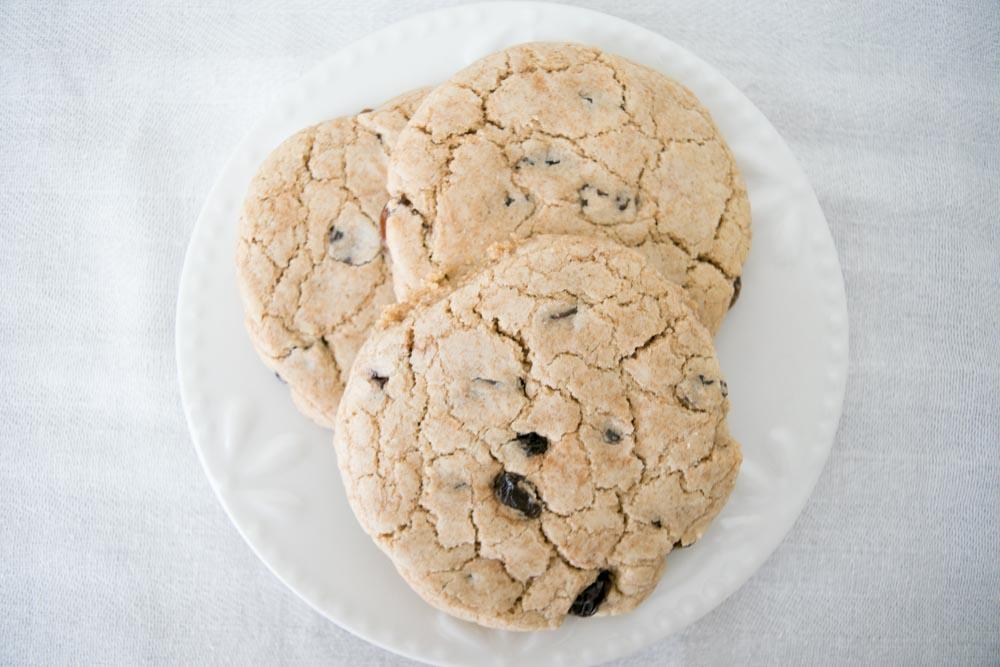 AIP Paleo Oatmeal Raisin Cookies