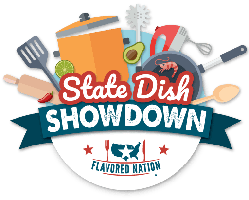 Flavored Nation State Dish Showdown Logo