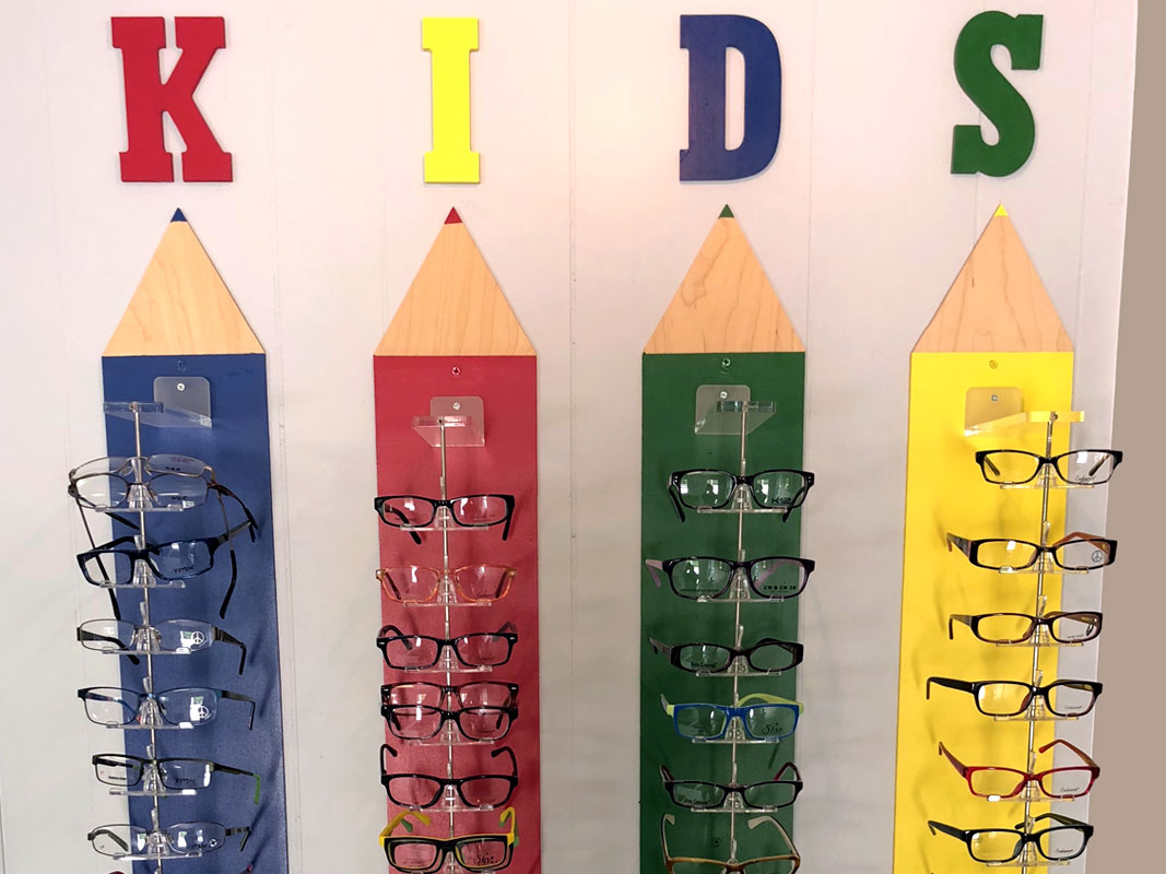 Selection of kids glasses