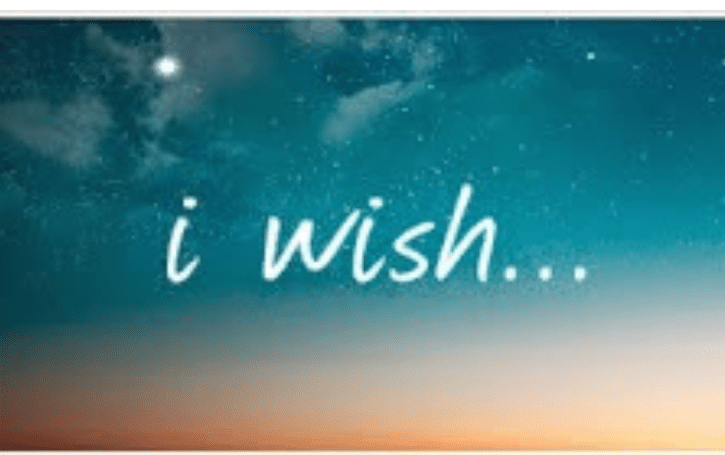 My wish for you…