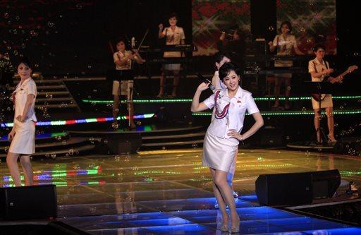 north korean girl band
