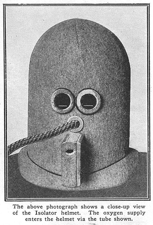 the isolator distraction helmet